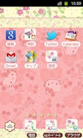 Screenshot of HELLO KITTY Theme37