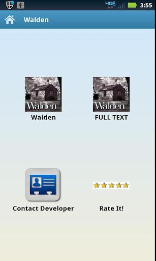 Audio Text Walden