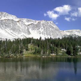 Sprague lake by Ken Sponsler - Landscapes Mountains & Hills
