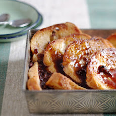 Favorite Bread and Butter Pudding with Bourbon Sauce