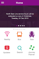 Screenshot of SBS Transit iris