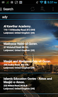 Screenshot of Mosque Finder