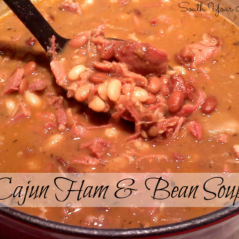 Cajun Ham and Bean Soup