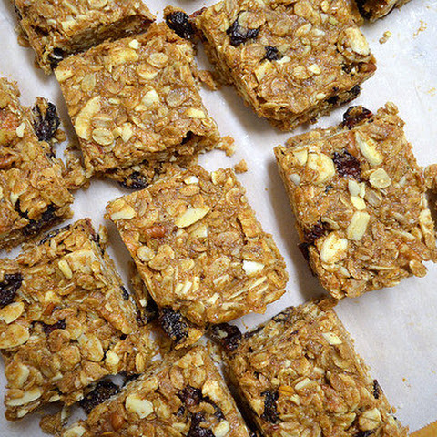 Chewy Cherry, Almond and Cacao Nib Granola Bars. Recipe | Yummly