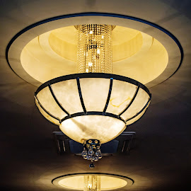 Art Deco Chandelier by Adele Southall - Artistic Objects Other Objects (  )