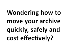 move your archive quickly safely and cost effectively