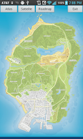 Screenshot of GTA 5 Cheats & Interactive Map