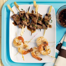 Ginger Shrimp Mini Skewers