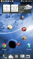 Screenshot of UFO Attack! LWP FREE