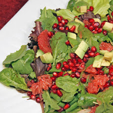 Avocado, Grapefruit, and Pomegranate Salad