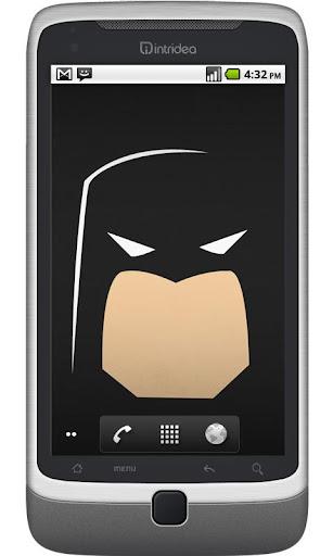BAT Face Live Wallpaper HD
