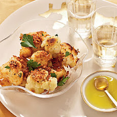 Israeli Cauliflower with Panko