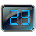 Digital LCD Clock Widget
