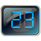 Digital LCD Clock Widget icon
