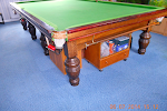 Annual Snooker Room Cleaned On Queue.