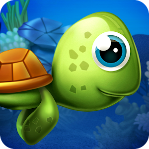 Olly Oops! - play an addictive Flappy Bird clone helping cute sea turtle