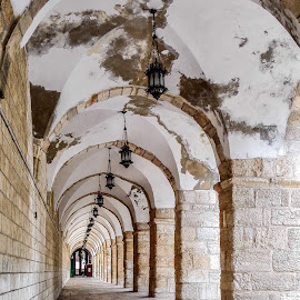 Jerusalem Old Town by Angelo Peruzzi - City,  Street & Park  Historic Districts
