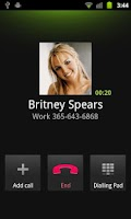 Screenshot of Spoof Caller