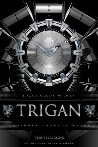 TRIGAN Designer Clock Widget