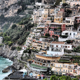 by Katrina Best - Novices Only Landscapes ( positano, amalficoast, italy )