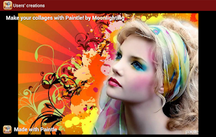 Screenshot of Paintle - Fun Photo Collages