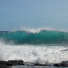 South Point wave #2 by Joe Stigall - Nature Up Close Water