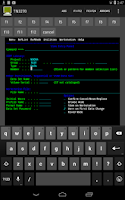 Screenshot of Mocha TN3270 Lite