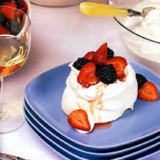 Mixed Berry Pavlovas