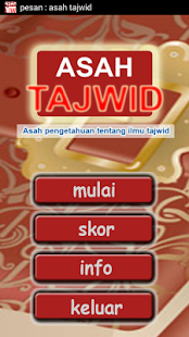 Asah Tajwid - screenshot