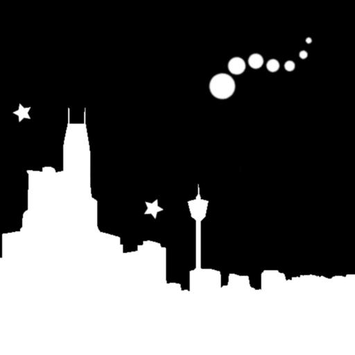 個人化必備App|Night Sky Bot Live Wallpaper LOGO-綠色工廠好玩App