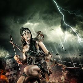 Warrior Princess by Bang Munce - Digital Art People