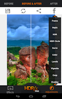 Screenshot of HDR FX Photo Editor Free