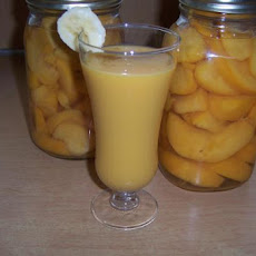 Ww Banana Peach Smoothie (Ibs Safe)