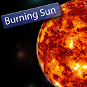 Burning Sun Live Wallpaper