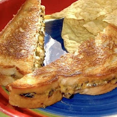 Mom's Original Grilled Enchilada Sandwiches