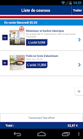 Screenshot of ALDI France