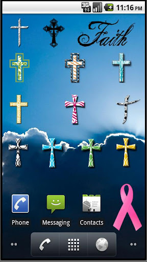 Christian Cross Sticker Pack