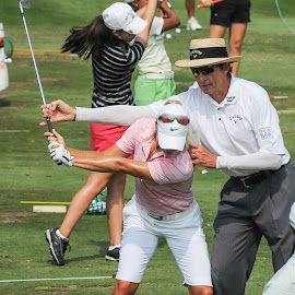 2010 US Open by Lawrence Kelly - Sports & Fitness Golf ( lpga, golf, 2010 lpga us open, 2010, golfers, us open, lady golfers, oakmont,  )