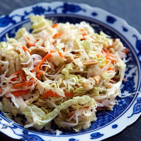 Asian Coleslaw Peanut Butter Rice Vinegar Recipes | Yummly