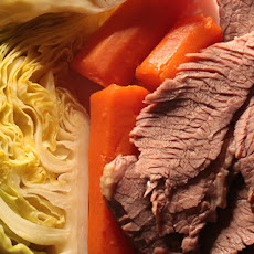 Corned Beef and Cabbage with Horseradish Cream Sauce Recipe