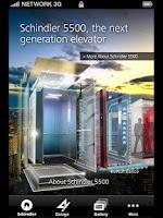 Screenshot of Schindler 5500 Elevator