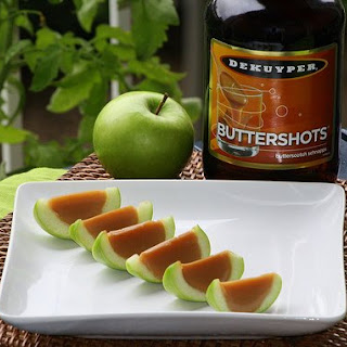 How to Make Caramel Apple Shots