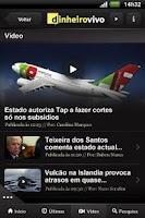 Screenshot of Dinheiro Vivo