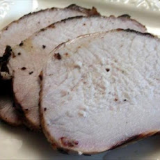 Vanilla, Cardamom and Apple Brined Pork Loin