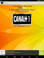 Screenshot of Canal Plus Online
