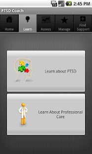 PTSD Coach Canada - screenshot