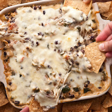 Spicy Chicken and Chile Taco Dip Recipe