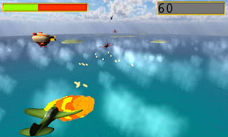 Screenshot of world war II games the pacific