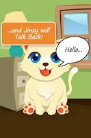 Screenshot of Talking Cat - Kitty Cat