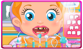 Screenshot of Baby Lizzie Dentist Games